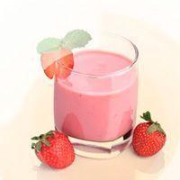 Queso fresco con fresas